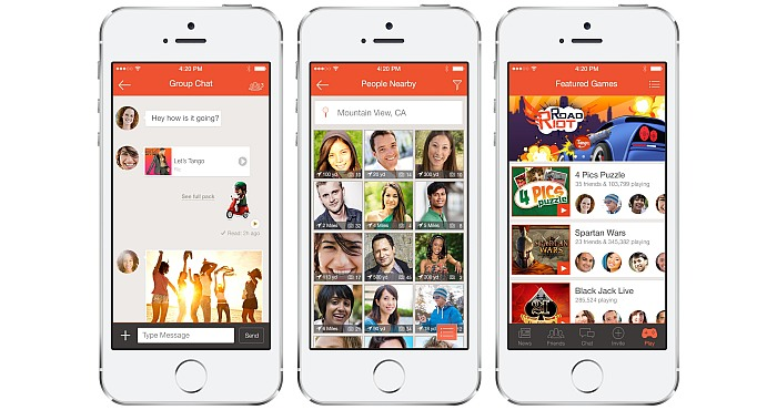 Tango is another Great Instant Messaging App but with a Difference