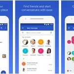 Download Google Messenger and enjoy its new Features