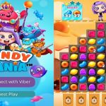 Viber Games: Viber Candy Mania and Viber Pop
