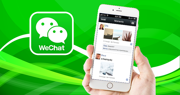 WeChat is a Blogging Platform and Mobile News Reading App